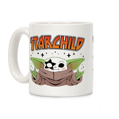 Starchild Baby Yoda Coffee Mug
