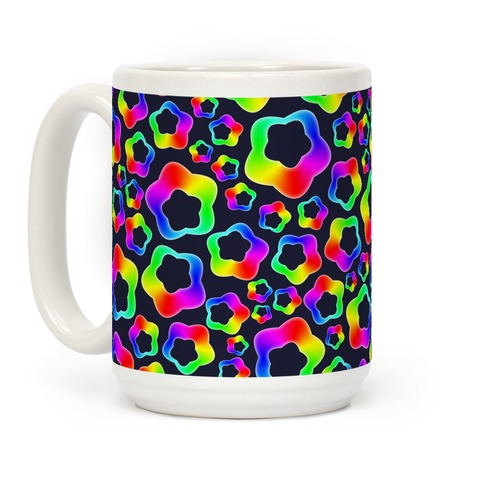 Squishy Rainbow Stars Coffee Mug