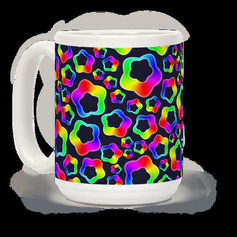 Squishy Rainbow Stars Coffee Mug