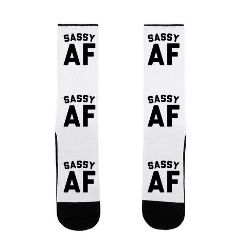 Sassy Af Sock