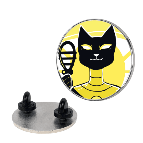 Feline and Divine - Bastet pin