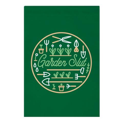 Garden Slut Garden Flag