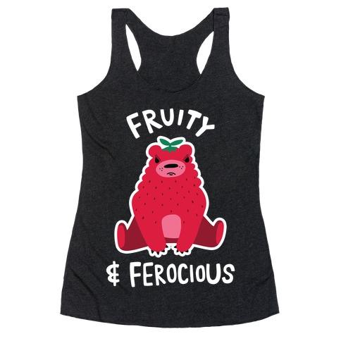 Fruity & Ferocious Racerback Tank Top