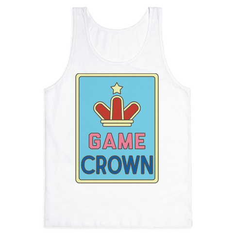 Game Crown Tank Top