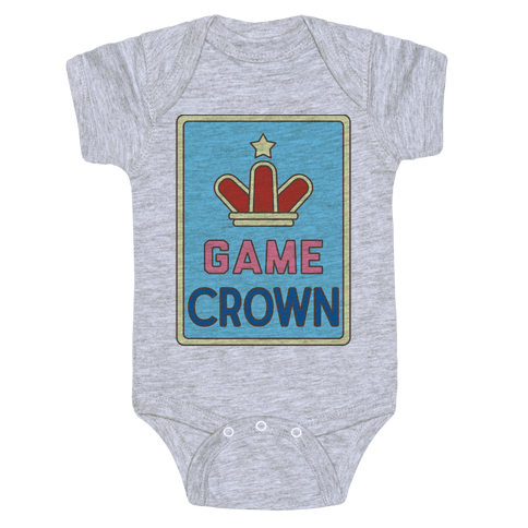 Game Crown Baby Onesy