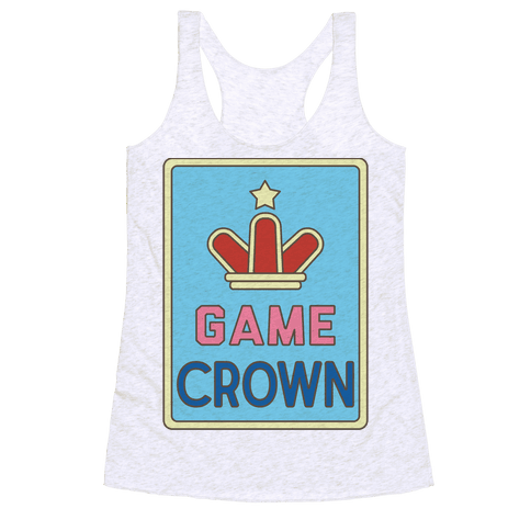Game Crown Racerback Tank Top
