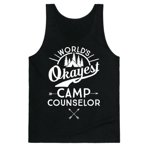 World's Okayest Camp Counselor Tank Top