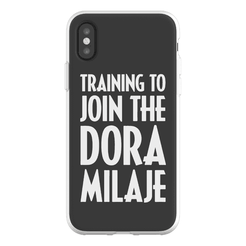 Training To Join The Dora Milaje Phone Flexi-Case