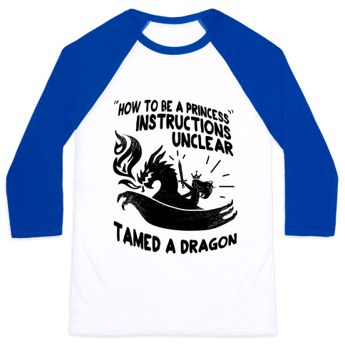 Instructions Unclear, Tamed Dragon Baseball Tee