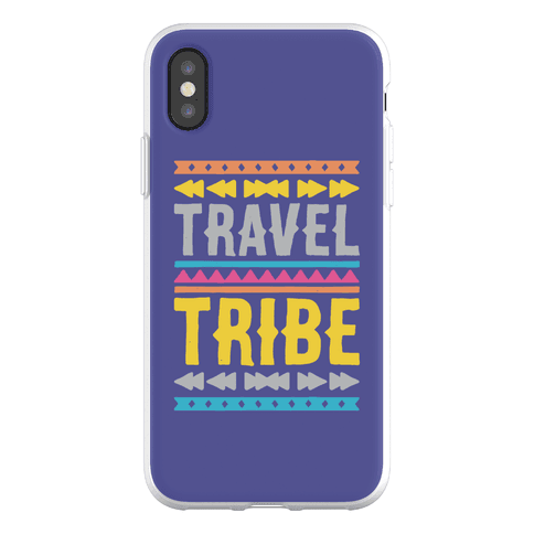 Travel Tribe Phone Flexi-Case