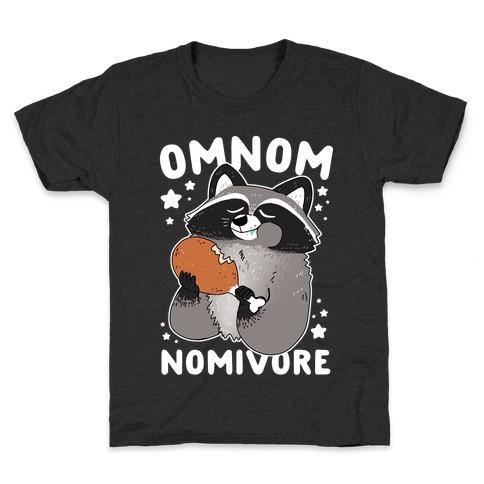 Omnomnomivore Kids T-Shirt