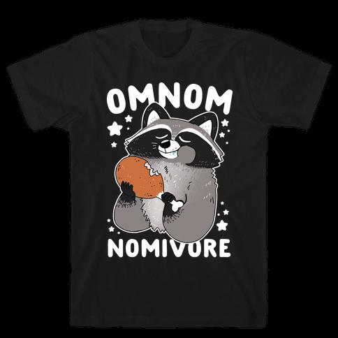 Omnomnomivore Mens/Unisex T-Shirt