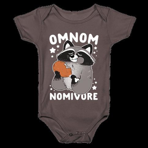 Omnomnomivore Baby One-Piece