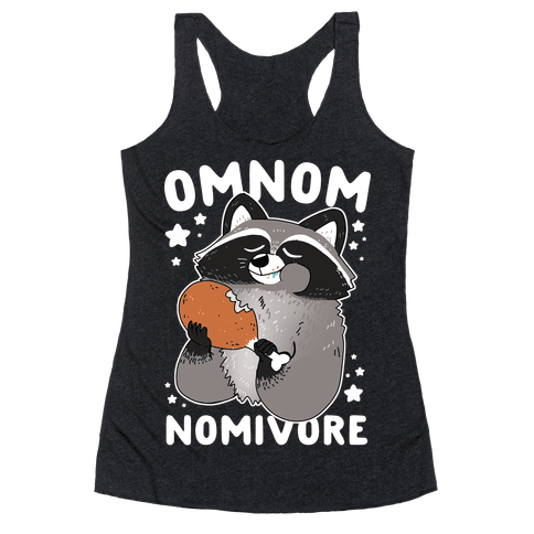 Omnomnomivore Racerback Tank Top