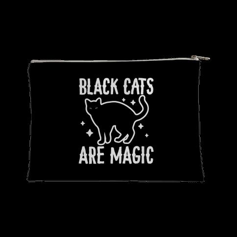 Black Cats Are Magic Accessory Bag