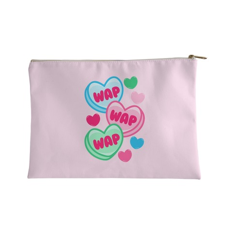 WAP WAP WAP Candy Hearts Parody Accessory Bag