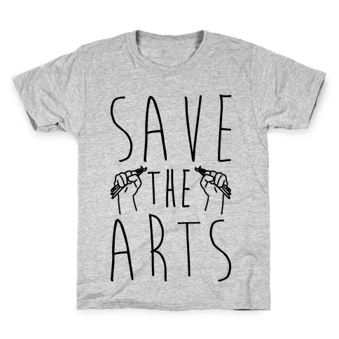Save The Arts Kids T-Shirt