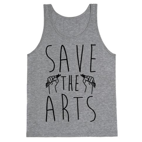 Save The Arts Tank Top
