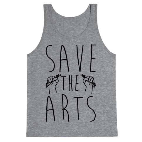 Save The Arts Tank Top