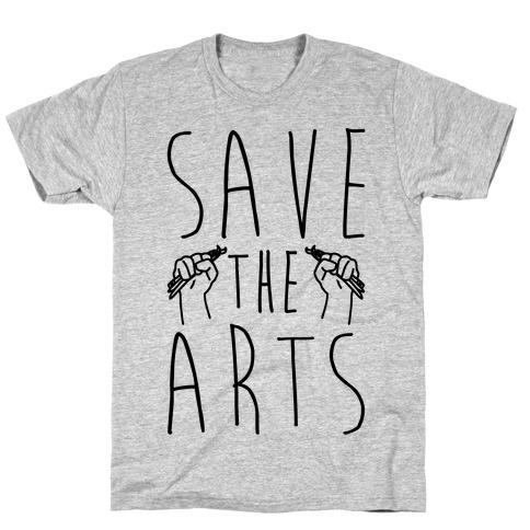 Save The Arts Mens/Unisex T-Shirt