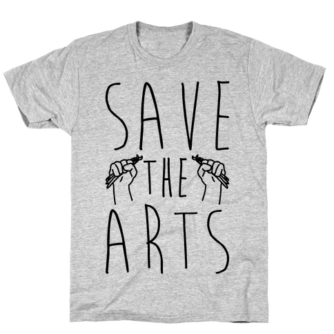 Save The Arts Mens T-Shirt