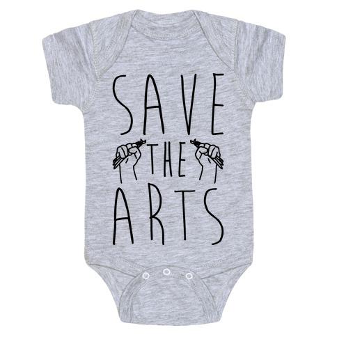Save The Arts Baby Onesy