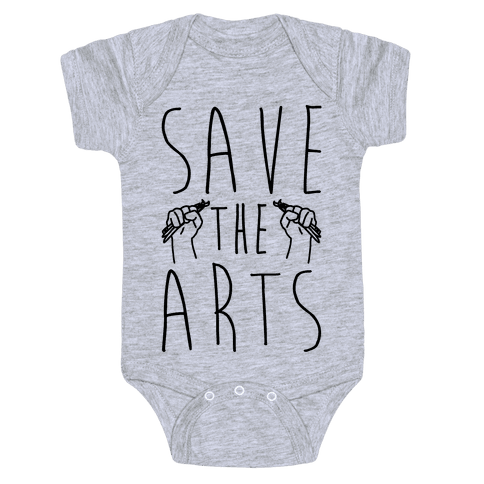 Save The Arts Baby Onesy