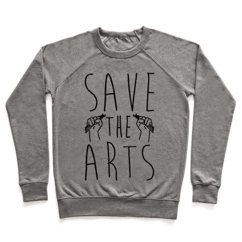 Save The Arts Pullover
