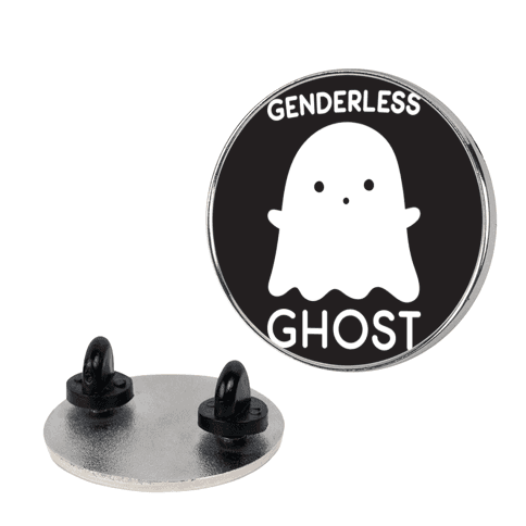 Genderless Ghost pin