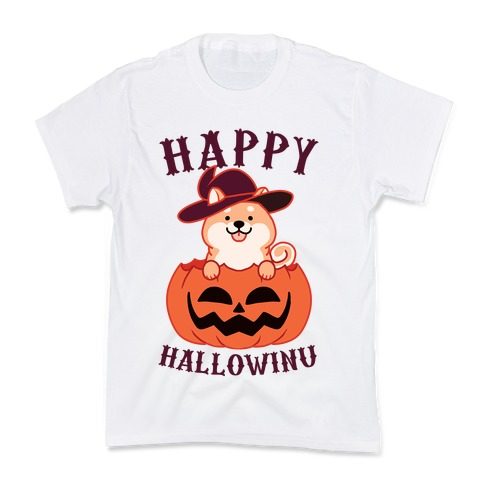 Happy Hallowinu Kids T-Shirt