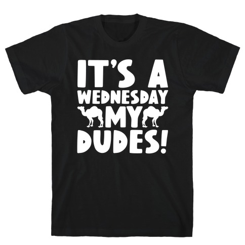 It's A Wednesday My Dudes T-Shirt