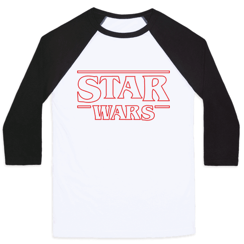 Star Wars Things Baseball Tee