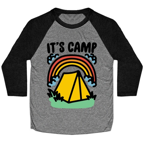 It's Camp Baseball Tee