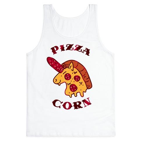 Pizzacorn Tank Top