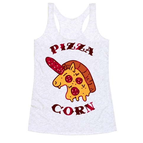 Pizzacorn Racerback Tank Top