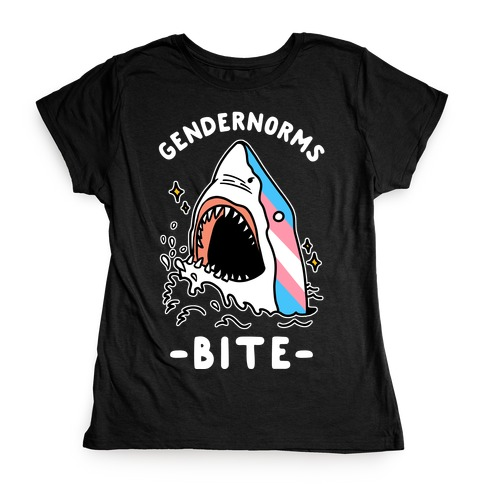Gendernorms Bite Trans Womens T-Shirt