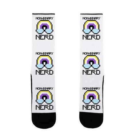 Non-Binary Nerd  Sock