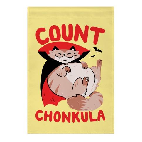 Count Chonkula Garden Flag