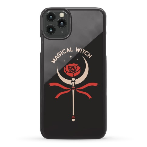 Magical Witch Wand Phone Case