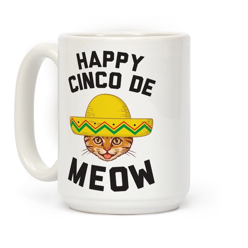 Cinco De Meow Coffee Mug