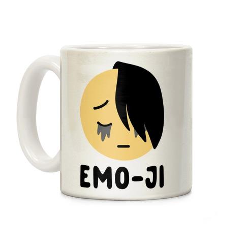 Emo-ji Coffee Mug