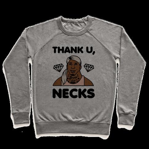 Thank U, Necks Pullover