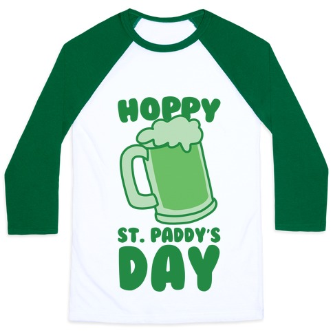 Hoppy St. Paddy's Day Baseball Tee