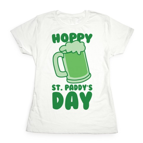 Hoppy St. Paddy's Day Womens T-Shirt