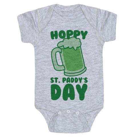 Hoppy St. Paddy's Day Baby Onesy