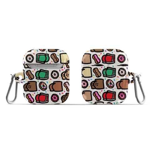 Donuts and Butts Pattern AirPod Case