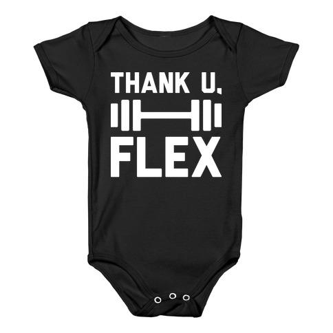 thank u, flex Baby Onesy