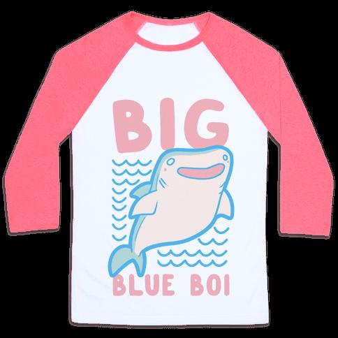 Big Blue Boi - Whale Shark Baseball Tee
