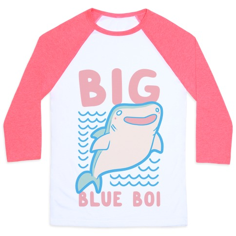 Big Blue Boi - Whale Shark Baseball Tee