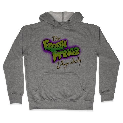 Fresh Prince of Agrabah 90s Parody Hooded Sweatshirt